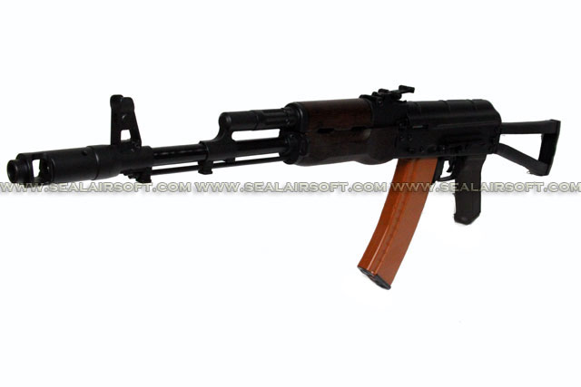A.P.S. AKS74 Real Wood Electric Blowback Rifle (ASK 204)