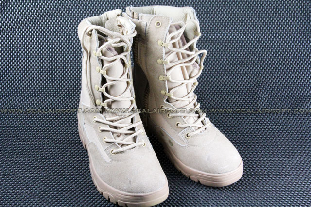 ACM US Army Desert Tan Military 8 inch Combat Boots
