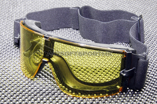 Airsoft Wind Dust X800 Yellow UV Lens Goggle GX1000