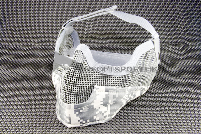 Half Face & Ear ACU Strike Steel Mesh Mask 02