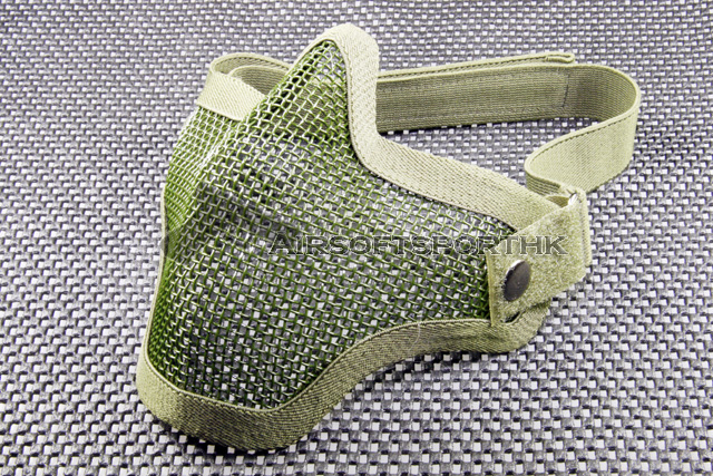Half Face Protector Green Shooting Mesh Small Mask 03
