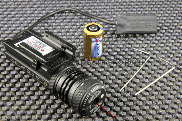 680nm Red Dot Laser Sight With Pad Set For Glock JG10A-R