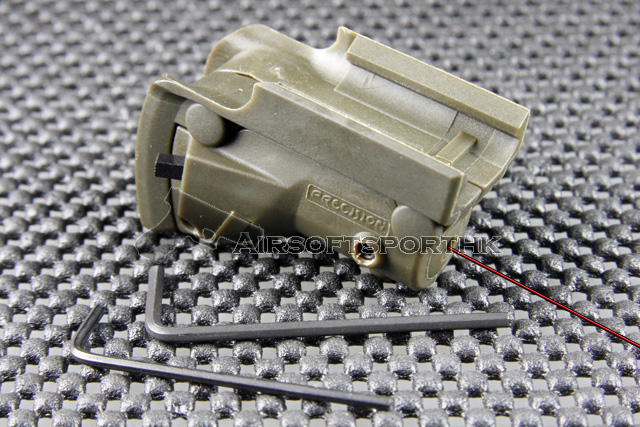 OP Red Dot Green Laser Sight with Lateral Grooves For Glock Pistol