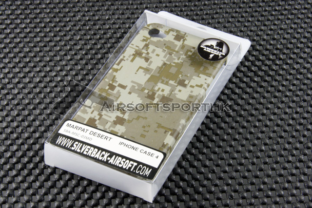 Silverback IPhone 4 Case For Apple IPhone 4 (Marpat Desert)