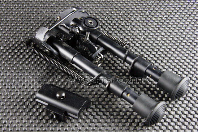 RAMBO Type 2 Spring Eject Tactical 6 to 9 Inch Bipod Bipod-008