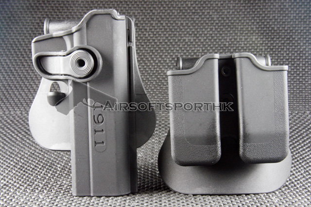 Polymer Paddle Holster & Magzine Pouch Fits 1911 Variants with and without rails