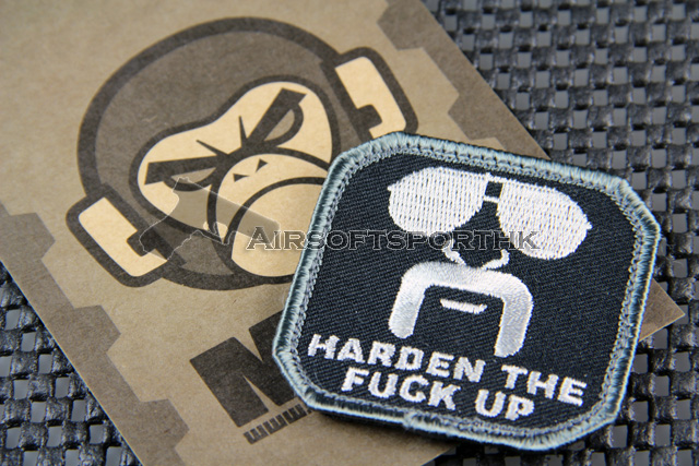 Mil-Spec Monkey Harden Up Logo Velcro Patch - SWAT