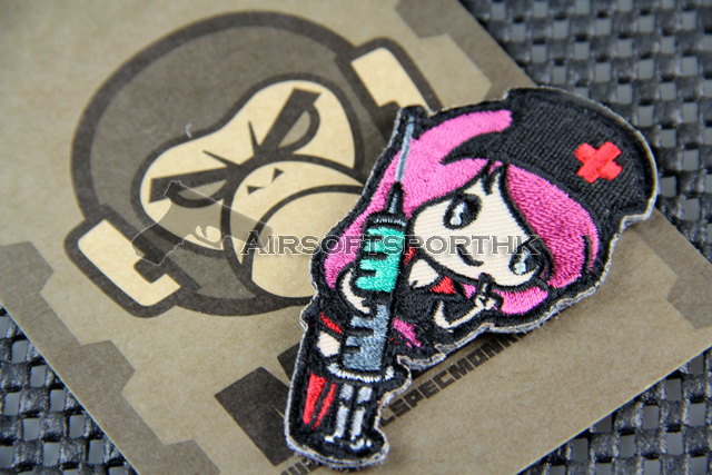 Mil-Spec Monkey Nurse Girl Logo Velcro Patch - UB