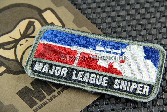 Mil-Spec Monkey Major League Sniper Logo Velcro Patch - Color