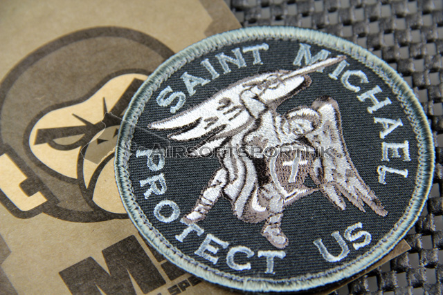 Mil-Spec Monkey Saint Michael Logo Velcro Patch - SWAT