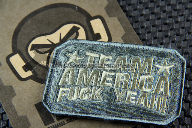 Mil-Spec Monkey Team America Logo Velcro Patch - ACU