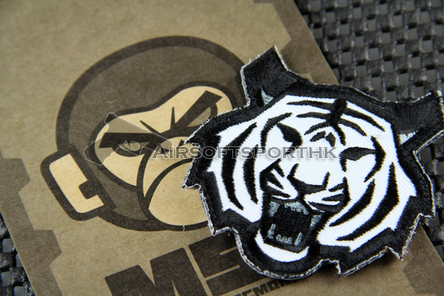 Mil-Spec Monkey Tiger Head Logo Velcro Patch - SWAT