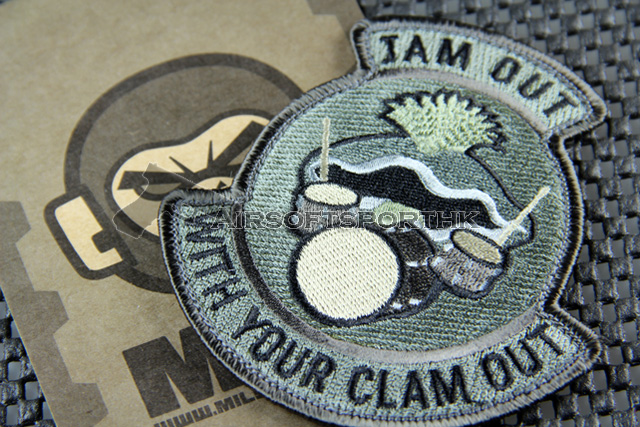 Mil-Spec Monkey Jam Out Logo Velcro Patch - ACU