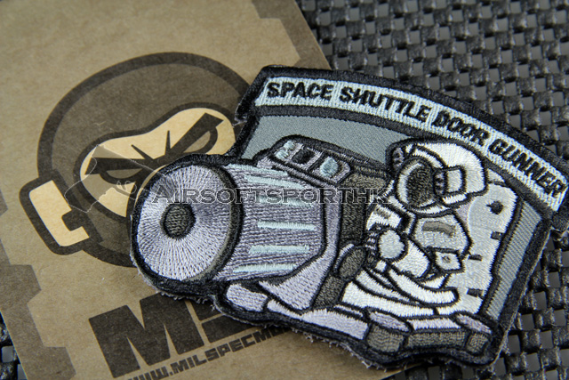 Mil-Spec Monkey Shuttle Door Gunner Logo Velcro Patch - SWAT