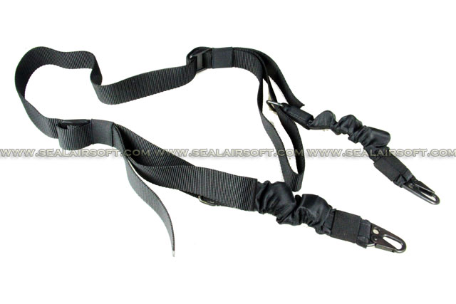 King Arms ST Tactical Elastic Sling (BK)