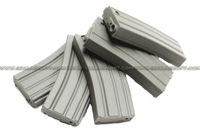 Beta Project 30rd M4 Magazine Box of 5 pcs (Black)