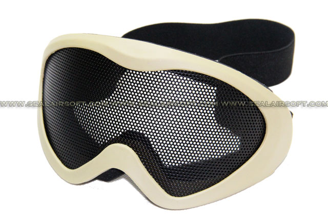 Chain Made X500 Eyes Protector Mesh Goggle (Tan) MG-04-TN