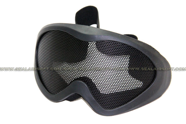 Chain Made X500 Eyes Protector Mesh Goggle (Black) MG-04-BK