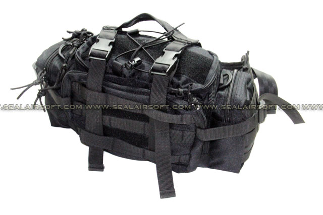 A.C.M. Gear Low Profile Courier Mission Go Bag (Type B / BK)
