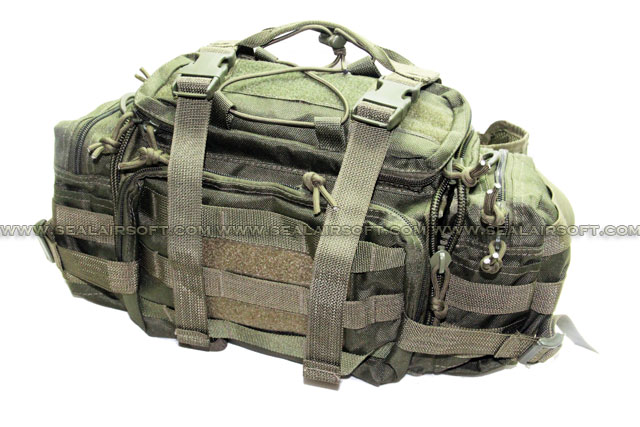 A.C.M. Gear Low Profile Courier Mission Go Bag (Type B / OD)