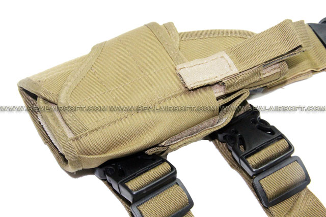 A.C.M. Drog Leg Pistol Thigh Holster (Coyote Brown)