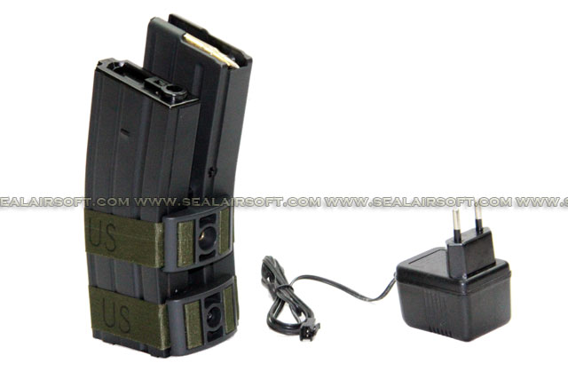 ACM 1000rd Electric-Winding Magazine For M4 AEG (Rechargeable) ACM-EWMAG-M4T03