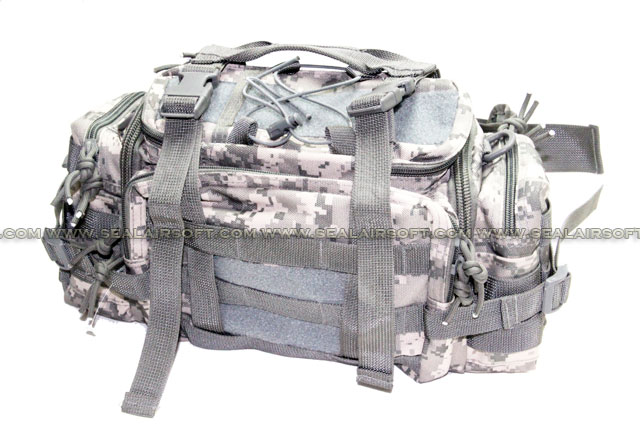A.C.M. Gear Low Profile Courier Mission Go Bag (Type B / ACU)