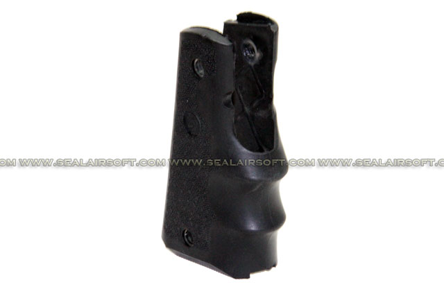 A.C.M. Airsoft Rubber Finger Grooves Grip For M1911 Series (Black) CM-HG001-BK