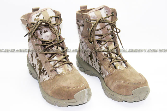 INFANTRY Walking Combat 8inch Boots (Digital Desert Camo) IFT-BOOT-WC8-DDC