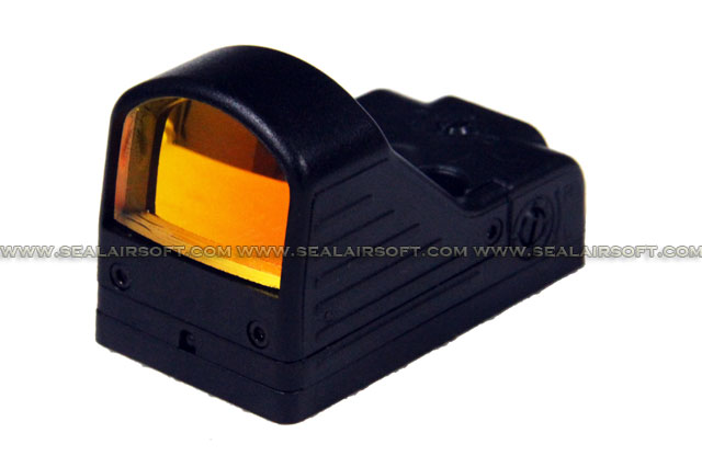 Element Mini Red Dot Sight (MRDS) with QD Base Mount - EL-EX201-DLX-BK