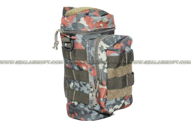 ACM Molle Water Bottle Medic Pouch German Flecktarn Camouflage PH-013-GFC