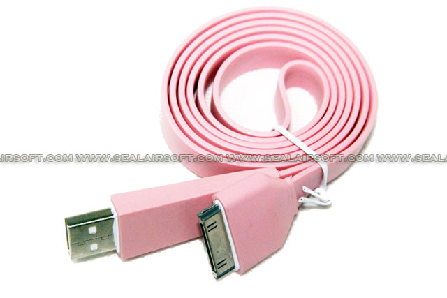 Rainbow Color USB Sync Data Charger 1M Cable For iPad iPhone 4s (1PCS) USB-NT-1M