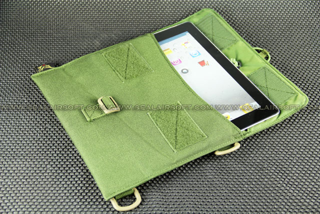 FLYYE Cordura iPad Molle Cover Bag - Olive Drab
