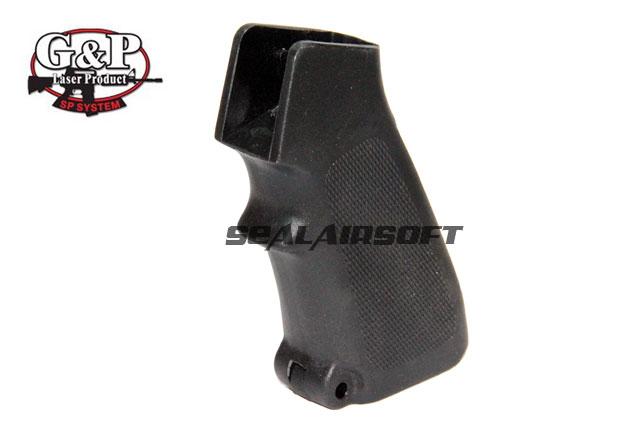 GP858B Black G/&P Storm Pistol Grip w// Heat Sink End Set For M4 AEG Airsoft