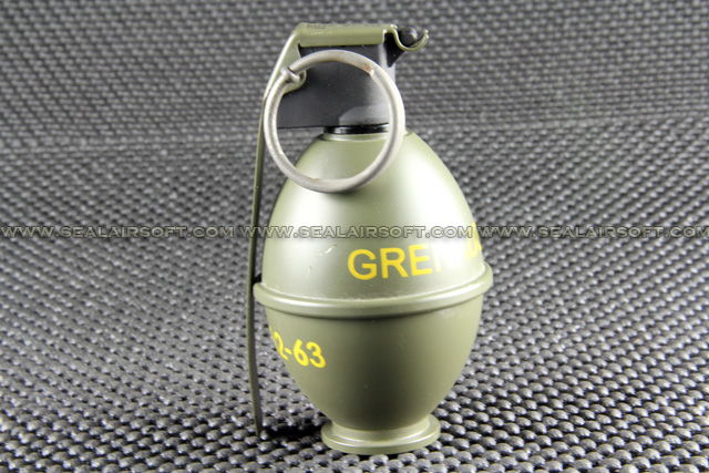 M26 Grenade Type Airsoft Ranger Green Gas Charger BD0054