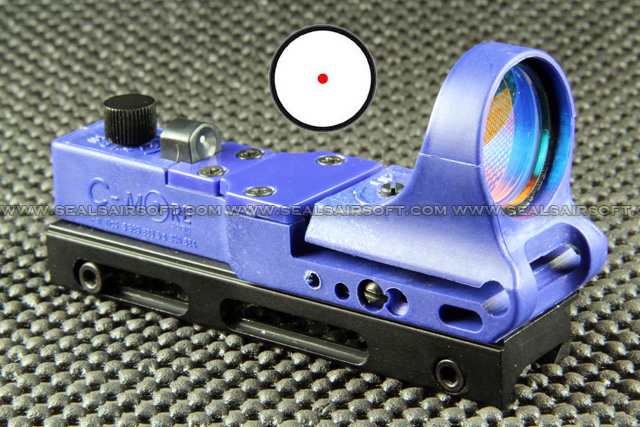 China Made C More Type Blue Railway Reflax Red Dot Sight RDS-043
