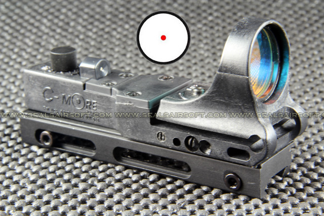 China Made C More Type Black Railway Reflax Red Dot Sight RDS-040