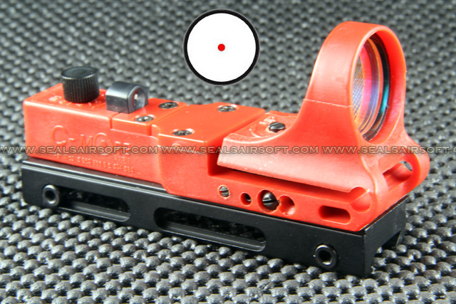 China Made C More Type Red Railway Reflax Red Dot Sight RDS-041