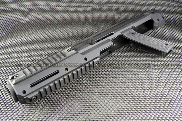 Carbine Conversion Kit For Marui M1911 / MEU (Black) HD-001