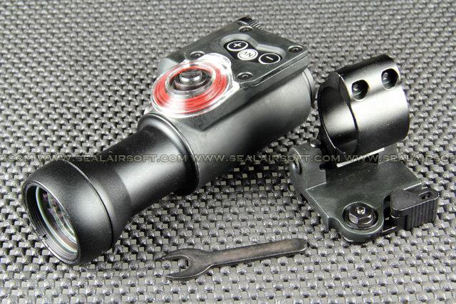 China Made Tri-Power Red Dot Scope Sight With QD Lever Side Filp Mount RDS-052