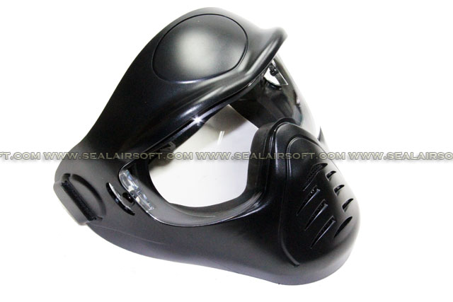 APS Heavy Duty Face Mask with Anti-Fog Lens (BK)