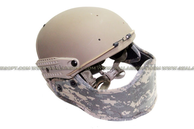 Big Dragon Helmet Mounted Face Protector (ACU)