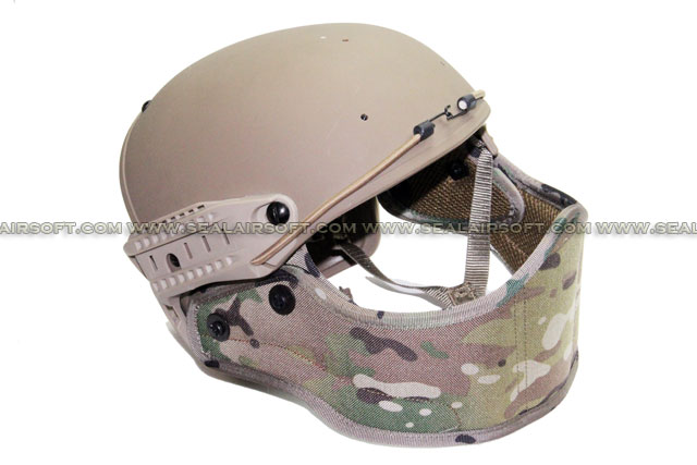Big Dragon Helmet Mounted Face Protector (MC)