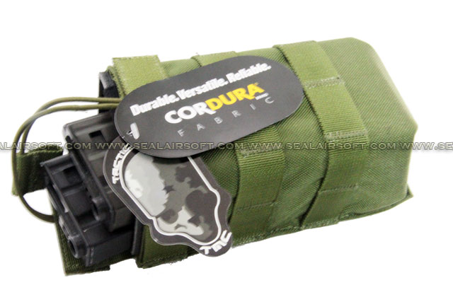 TMC MOLLE Universal Open Top Hard Big Pouch (Olive Drab)