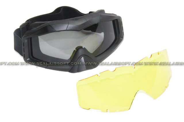 ARMY FORCE Wind Dust Tactical Goggle (Black)