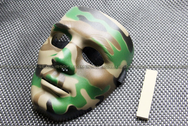 All China Made Full European Face Plastic WC Protector Mask 09