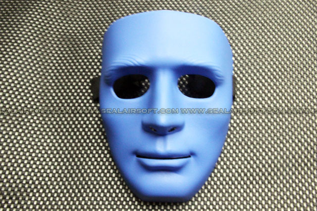 All China Made Full European Face Plastic Blue Protector Mask 09