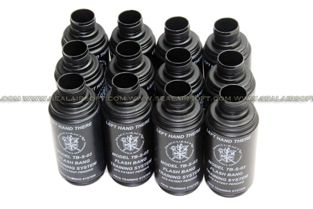 Hakkotsu Thunder B CO2 Sound Grenade Replacement Set (12pcs)