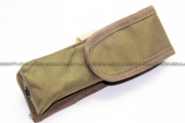 SE AEG External Large Battery Pouch Bag Pack Coyote Brown SE-PH05-CB