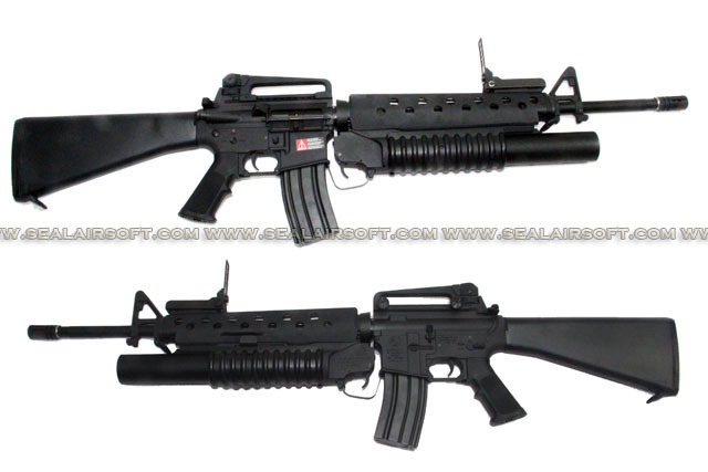 G&P M16A3 w/ M203 Airsoft AEG (GP299)
